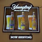 """Yuengling Seasonal LED Sign NOW SERVING Oktoberfest  ~  NEW in BOX ~  31"""" x 28"""""""