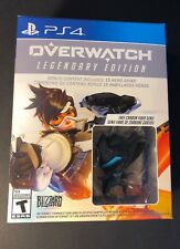 Overwatch Legendary Edition Bundle Pack W/ Carbon Fiber Genji Figure (PS4) NEW