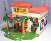 PLAYMOBIL aus 4857 Ferienhaus Gebäude Haus Villa Pergola Rankpflanze Möbel
