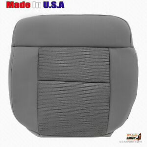 2004 To 2006 Ford F150 FX2 Driver Gray Cloth Seat Replacement Cover Regular--Cab