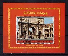 AJMAN Golfstaaten , Architektur, Rom Antiker Triumphbogen Block 393A **