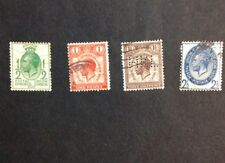 1929 Great Britain Vf Used Sc #205-208 Postal Union Congress London catalogs $18