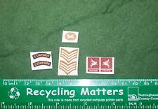 1/6 ww2 British 6th Airborne South Staffords glider patches lot 1