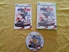 Gioco XBOX 360 SUPERSTARS V8 Racing Usato, COMPLETO CON MANUALE, non testato