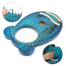 Lyra Harfe 16 Saiten Stimmschlüssel mit Stimmschlüssel Mahagoni Harfe DE