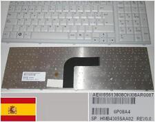 Clavier Qwerty Espagnol LG R700 Series 6P08A4 AEW656138OK HMB4305SAA02 BLANC