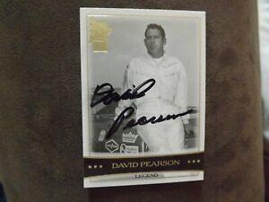 2003 Press Pass VIP David Pearson Legend Autographed Card