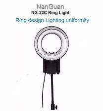 Foto de estudio fotográfico de vídeo 5400K LED Regulable Anillo de Luz Lámpara para Canon Nikon DSLR