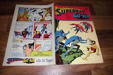 SUPERMAN / BATMAN  # 14 vom 6.7.1974 -- mit Sammelecke