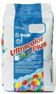 Mapei Ultracolor Plus Flexible Wall & Floor Grout 5kg 111 Silver Grey Mould Resi