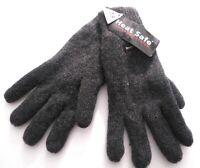 Damenhandschuhe Strick Wollhandschuhe Grautöne elegant warm Herbst Winter