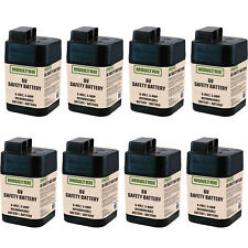 Moultrie 6 Volt Rechargeable Safety Battery for Automatic Deer Feeders (8 Pack)