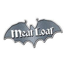 Meat Loaf Bat Metal Pin Badge (ro)