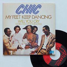 "Vinyle 45T Chic  ""My feet keep dancing"""