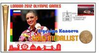 EVGENIYA KANAEVA 2012 OLYMPIC GYMNASTICS GOLD MEDAL COV
