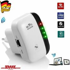 300 Mbit/s WLAN Repeater WLAN Signal Verstärker Wifi Wlan Router Boost DHL