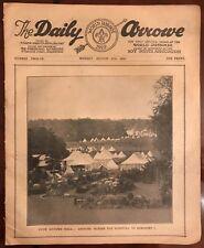 Die täglichen arrowe Pfadfinder World Jamboree bestätigte 1929 Tageszeitung Nummer 12