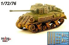 Redog 1:72/76 Sherman Firefly additional armour and stowage kit  /s7