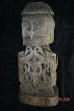 "Sale! Papua New Guinea Biak Korawr Skull Figure 25"" X 14"" Prov"