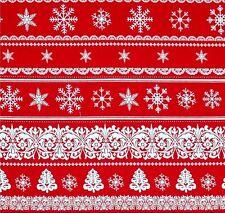 Love & Peace Streifen Patchwork Stoff Weihnachten Weihnachtsstoff Patchworkstoff