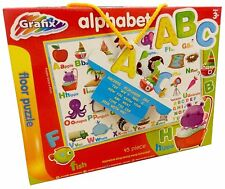Grafix Giant 45 Piece Alphabet Educational Letters Words Learning Floor Puzzle