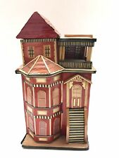 San Francisco Music Box Company Victorian House Schmid Movement Memory from Cats