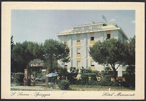 AX2094 San Severo (FG) - Hotel Maremonti - Cartolina postale - Postcard