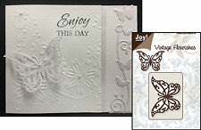 VINTAGE FLOURISHES BUTTERFLY metal die 6003/0023 Joy Craft Cutting Dies insects