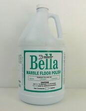 Bella Marble Floor Polish for Marble, Terrazzo & Limestone Floors 1 Gallon 1 gal
