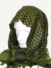 BRITISH ARMY SAS SF OG OLIVE GREEN ARAB SHEMAGH SCARF BUSHCRAFT SURVIVAL Cotton