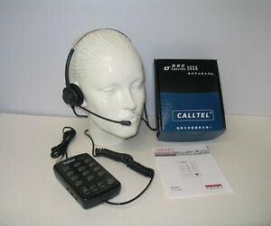 CallTel CT-1000 Feature Headset Tone Dialing Telephone for SOHO and Call Centers
