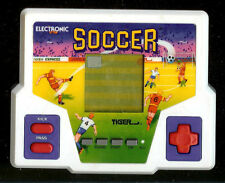 ★ 1990s SOCCER TIGER ELECTRONIC HANDHELD POCKET ARCADE LCD VINTAGE VIDEO GAME ★