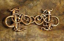 Gewandhaken urna estilo bronce dragón Dragon vikingo