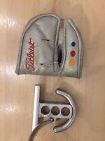 "RH Titleist Scotty Cameron Futura Mallet Putter 35"" steel shaft +Cover -Free S&H"