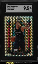 2019 Panini Mosaic Stained Glass Luka Doncic #9 Sgc 9.5 Mint+
