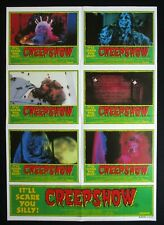 CREEPSHOW 1982 Rare Australian photosheet movie poster horror classic Romero