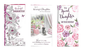 Daughter Birthday card for an Adult ~ choice of design ~ quality card  J1