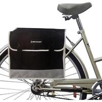 Dunlop Gepäckträgertasche Satteltasche Fahrradtasche Doppel Seitentasche Fahrrad