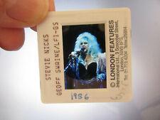 More details for original press photo slide negative - fleetwood mac - stevie nicks - 1986 - f
