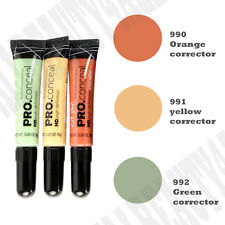 LA Girl Pro HD Concealer CORRECTOR Orange Yellow Green 3 pieces set Long-Lasting