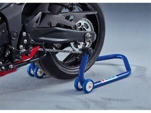 Suzuki Mount Stand Blue Rear