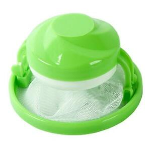 A1ST Household Home Floating Lint Hair Catcher Mesh Pouch Washing Cleaning Ball