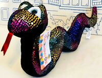 New Plush Paradise Snake Rainbow Metallic Multicolor Stuffed Animal Toy Factory