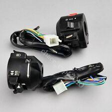 "Motorcycle ATV 7/8"" Handlebar Horn Turn Signal Electrical Start Switch 12V Honda"