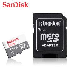 SanDisk Ultra 64GB UHS-I microSDXC Memory Card (SDSQUNS-064G-GN3MN)