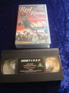 VHS.RED RUM.A NATIONAL TREASURE.HORSE RACING GRAND NATIONAL.UK PAL VIDEO TAPE.
