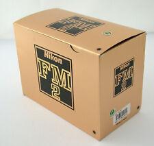NIKON fm2 N SLR Body Boîtier Mechaniker Black Serviced Top En Boîte Neuf dans sa boîte