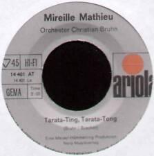 """MIREILLE MATHIEU ~ TARATA-TING, TARATA-TONG ~ 1969 GERMAN 7"""" SINGLE"""