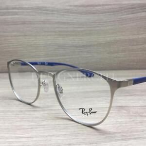 Ray Ban RB 6355 RB6355 Eyeglasses Palladium Blue 2538 Authentic 50mm