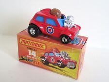 Matchbox Superfast 14b Mini Ha Ha - PURPLE DRIVER - Mint/Boxed